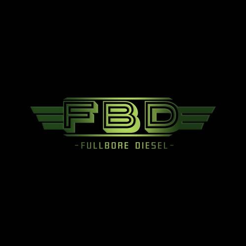 create a eye catching logo for fullbore diesel & fab
