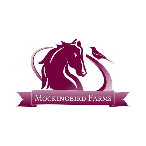 logo for Mockingbird Farms