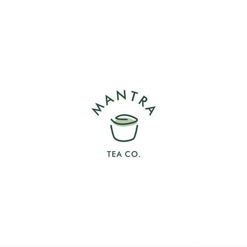 Logo Concept for Mantra Tea Co.