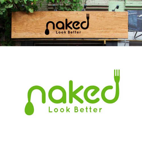 logo concept for Naked