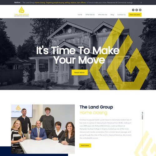 The Land Group Website