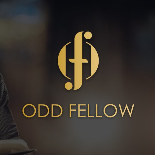 """ODD FELLOW"" logo"