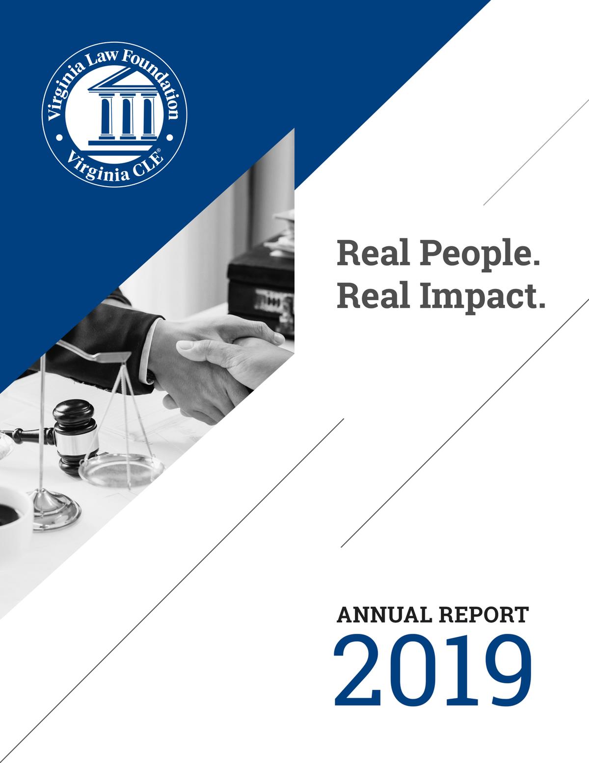 Virginia Law Foundation Annual Report