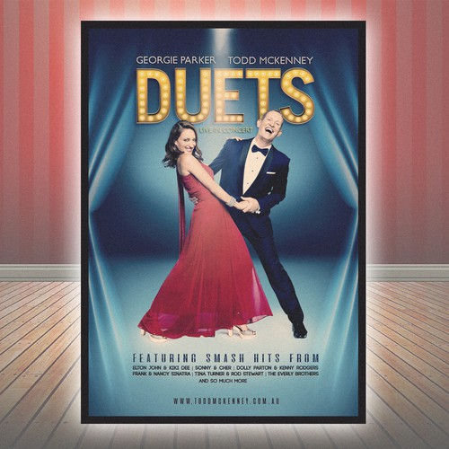 "Poster for ""Duets"" Contest"
