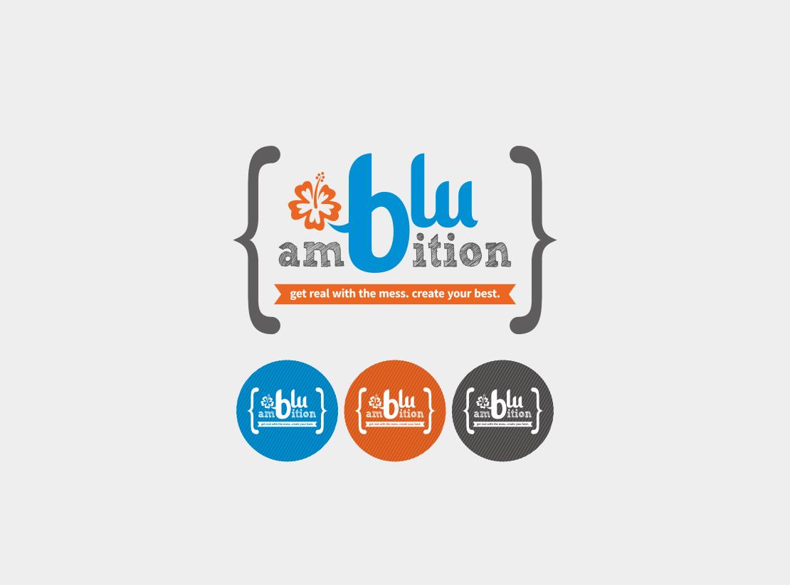 logo for blu ambition