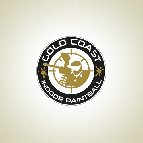 Create a Professional and Exciting Logo for Indoor Paintball