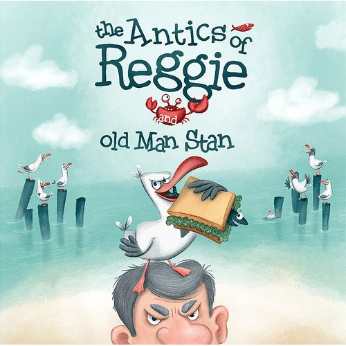 Children's book about the prankster seagull