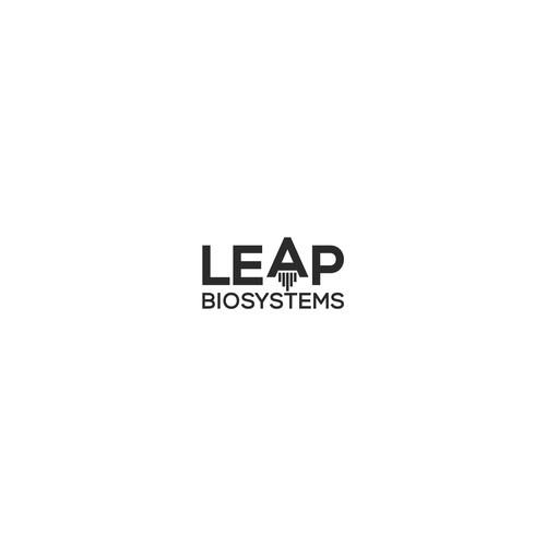 leap lettermark logo