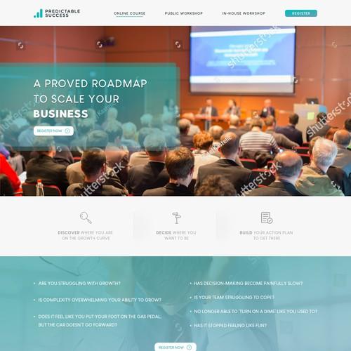Predictable Success - Website Design
