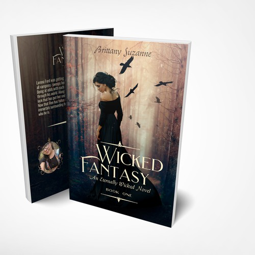 Wicked Fantasy Paperback Cover