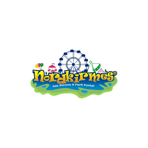 Theme Park Logo Design for NORDKIRMES