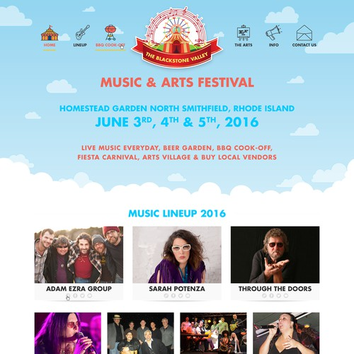 The Blackstone Valley Music & Arts Festival
