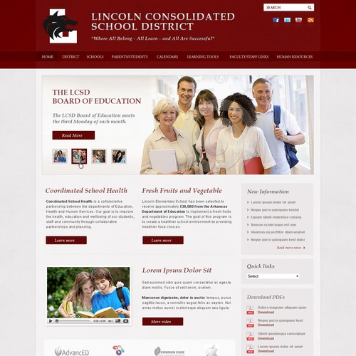 Create the next website design for Time Media INC