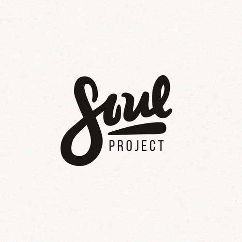 Create a youth and fresh logo for an up and coming social business called Soul Project.