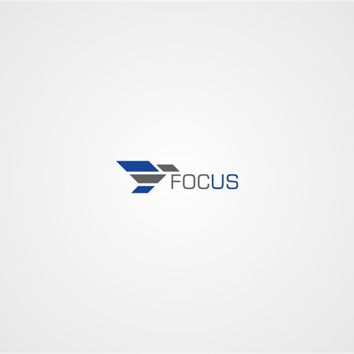 Create a modern & unique logo for a common word (focus) & popular business category (consulting)