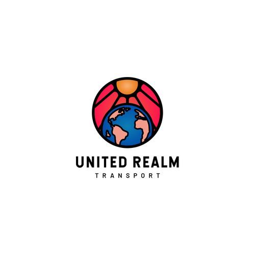 Logo for worldwide transportation company
