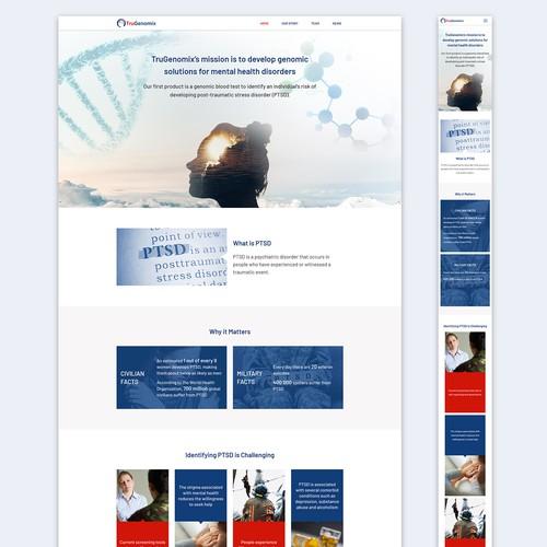Design & Development of TruGenomix.com