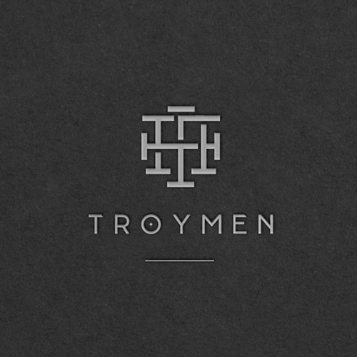 Simple and Elegant Logo and Business Card for Troymen Company