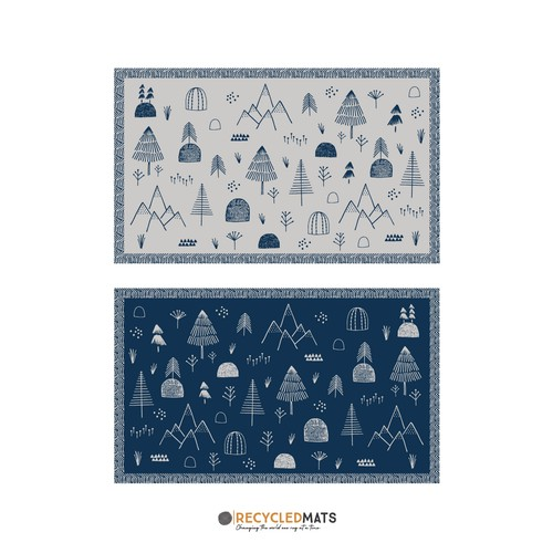 Camping mat design