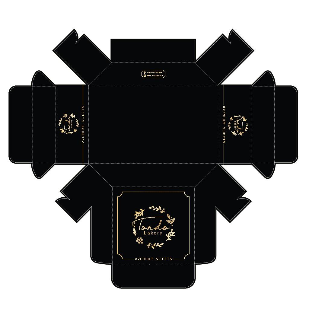 Tondo Bakery Small Box Design