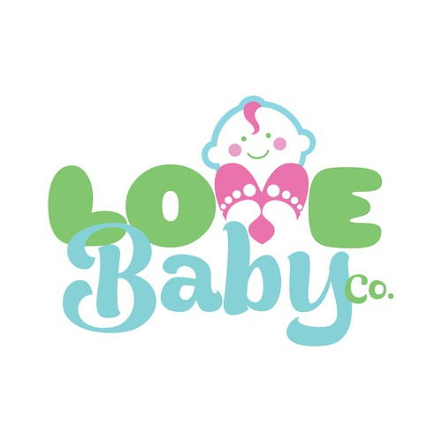 Logo for a baby boutique