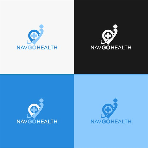 Logo concept for NavGoHealth