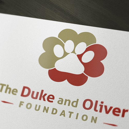 The Duke and Oliver Foundation needs a new logo