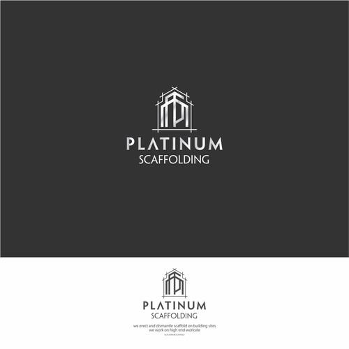 Logo Concept for Platinum Scaffolding