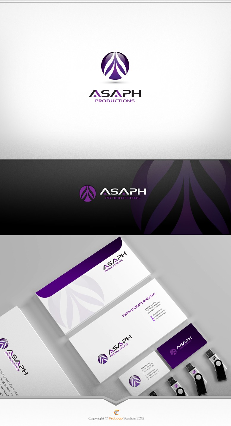New logo wanted for MUSIC COMPANY: Asaph Productions