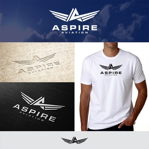 Aspire Aviation needs brand defining logo