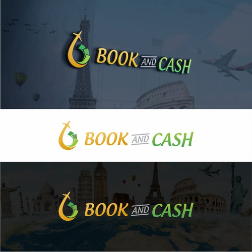 Logo Concept for Book and Cash
