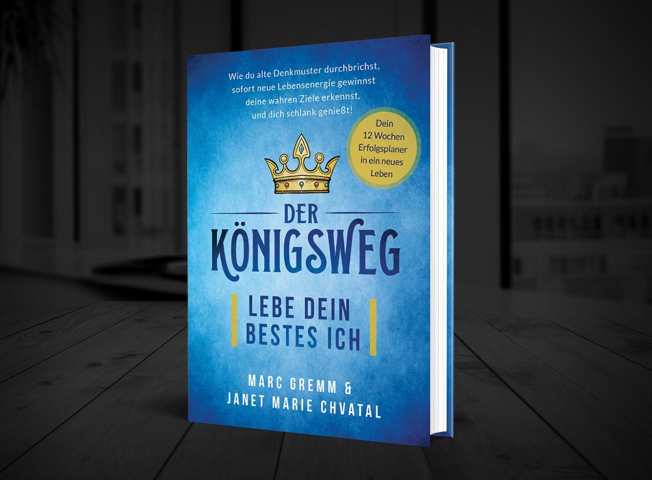"""Book Cover """"Der Königsweg"""""""