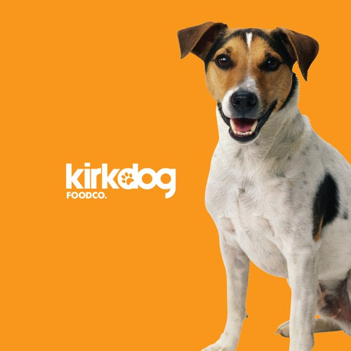 Logo concept for pet food product