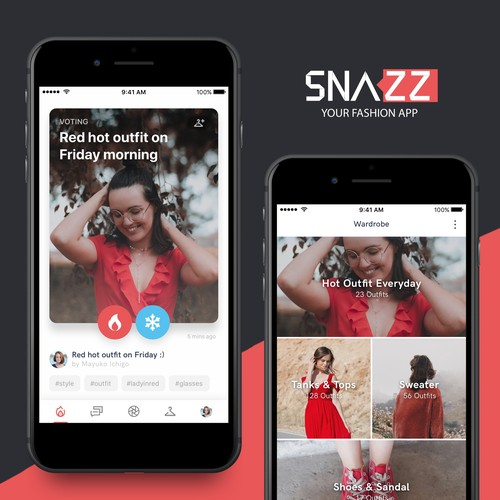 SNAZZ - ​your​ ​mobile​ ​fashion​ ​consultant