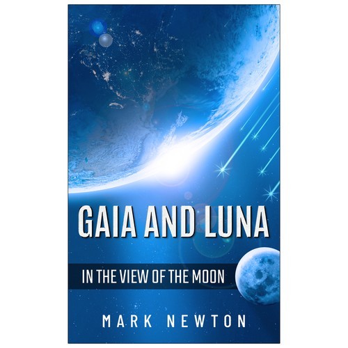 'Gaia and Luna' eBook Cover Design