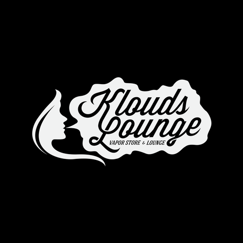 Logo design for Vapor store & Lounge