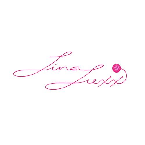 Logo design for a yarn dyer