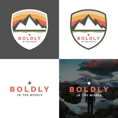 Logo concept for Boldy In The Middle
