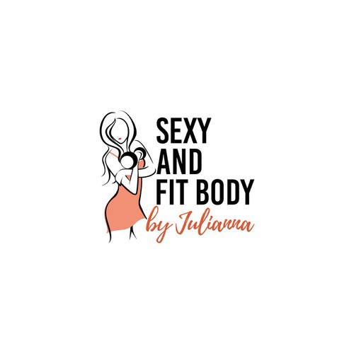 Logo for sexy and body fit by julianna