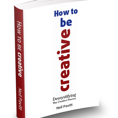 A creative book cover about creativity