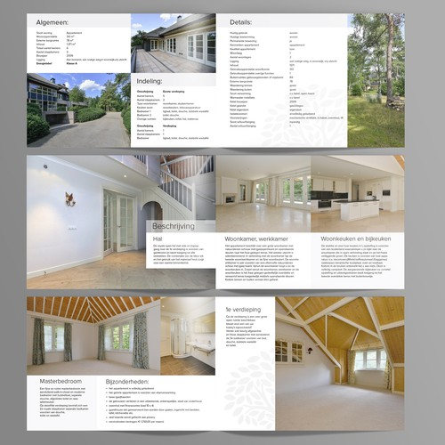 brochure for exclusive country houses and villa's