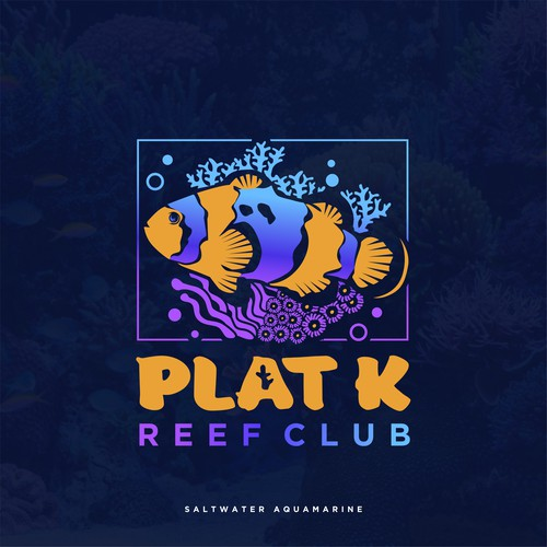 reef and fish logo for  community