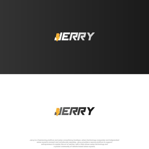 bold word mark for jerry