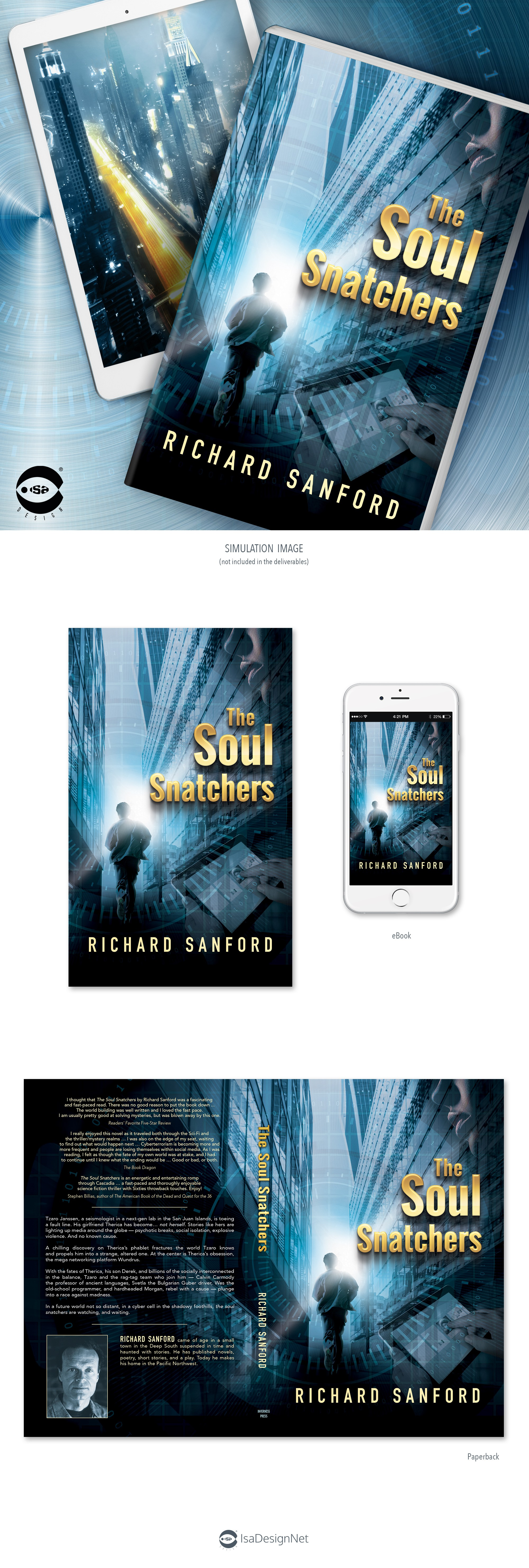 Book cover: The Soul Snatchers