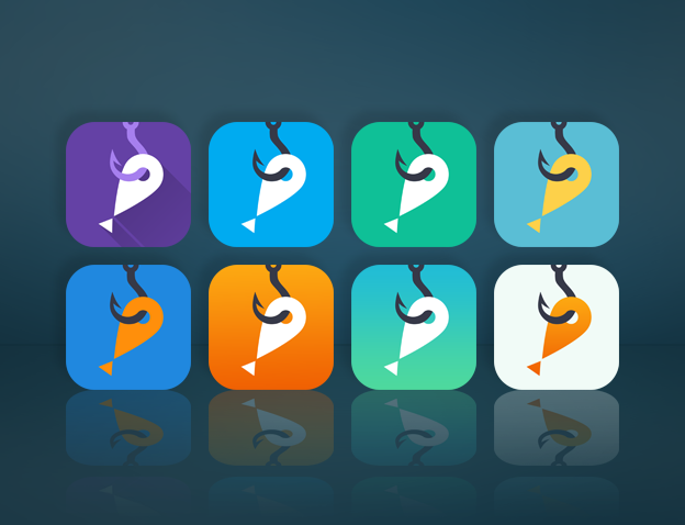 Redesign our ICON for a recreational fishing App