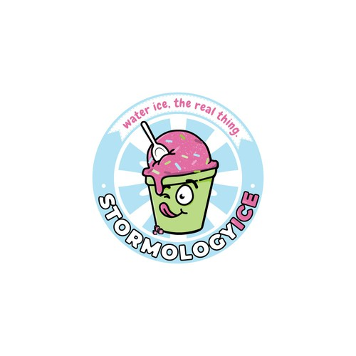 Logo for Stormology ice