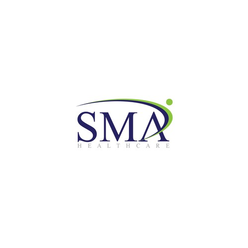 SMA Healthcare logo design.