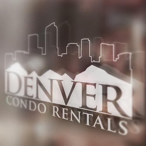 Denver Condo Rentals Logo design.