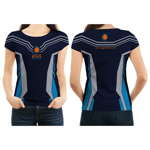 New running t-shirt for EGG-Team