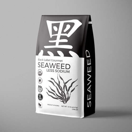 Seaweed packaging